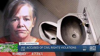 Jail accused of civil rights violations