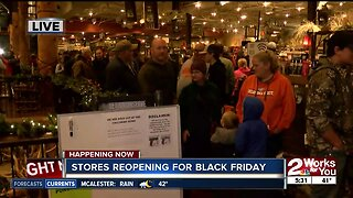 Stores reopening for black Friday