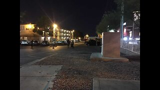 Police search for suspect after deadly shooting in Las Vegas