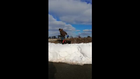What Happens When You Walk On Snowdrifts