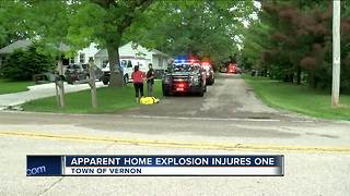 One person seriously injured after potential home explosion in Vernon