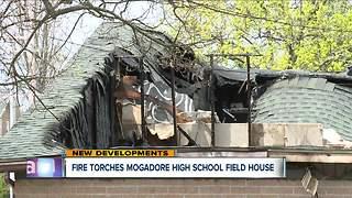 Fire torches Mogadore High School field house
