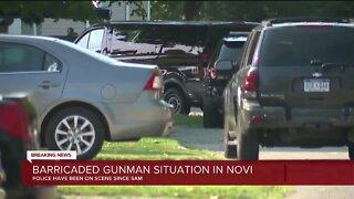 Barricaded gunman situation in Novi