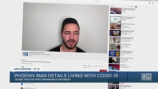 Arizona man who says he has COVID-19, details journey in YouTube video