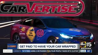 Make money by driving around with your car wrapped