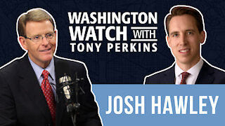 Sen. Josh Hawley Shares about Fighting Back Against Big Tech Censorship