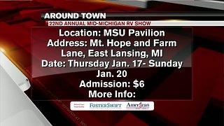 Around Town 1/14/19: Annual Mid-Michigan RV Show