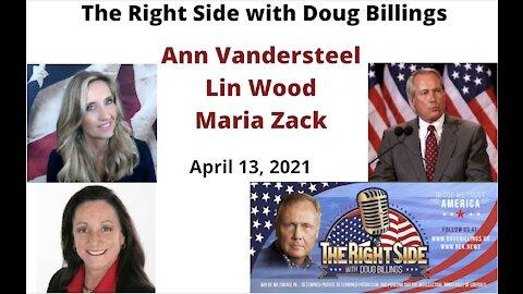 Doug's Exclusive Interviews with: Ann Vandersteel, Lin Wood & Maria Zack