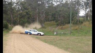 Ford Falcon Rally car