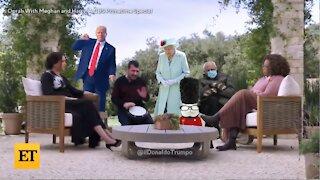 Trump Trolls The Royal Family