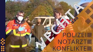 Vechta - Polizei mischt sich ein - will die Menschen abführen