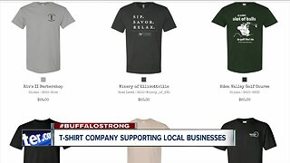 T-shirts helping support small businesses