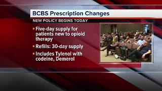 BCBS announces opioid policy change
