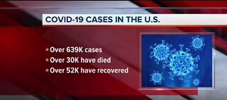 NATIONAL: COVID-19 cases across the U.S.