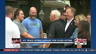 Vice President offers support for flood victims