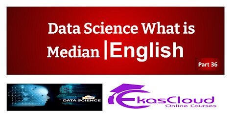#Data Science What is Median   Ekascloud   English