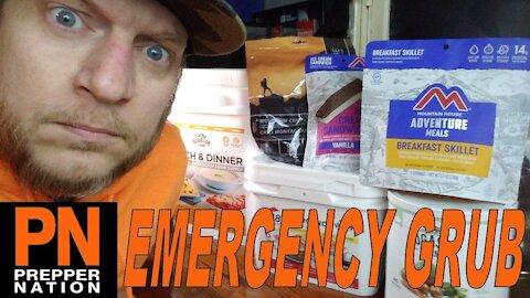 Stacking Emergency Grub in SHTF