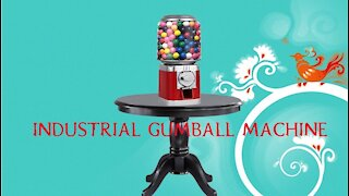 Candy Gumball Vending Machine Unboxing
