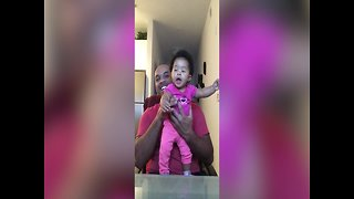 Baby Girl has EPIC Dance Moves