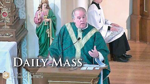 Fr. Richard Heilman's Sermon for Saturday Oct. 16, 2021
