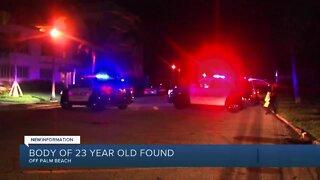 Man's body found after swimming near Palm Beach Docks