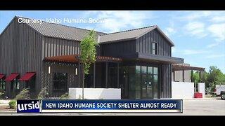 New Idaho Humane Society shelter almost ready