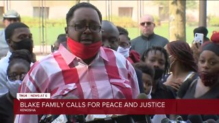 Jacob Blake's family speaks as he remains under critical condition in hospital