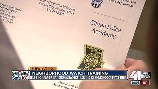 KCPD helping residents start Neighborhood Watch Groups