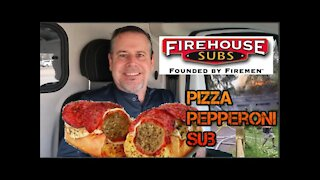 Firehouse Subs® new Pepperoni Pizza Meatball Sub!!!