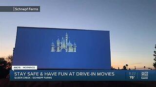 Schnepf Famrs in Queen Creek is hosting drive-in movie night