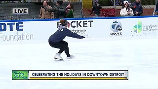 Holiday Fun in Downtown Detroit