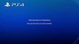 Playstation 4 startup/intro
