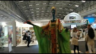 SOUTH AFRICA - Cape Town - The World Trade Market Expo (Video) (jbp)