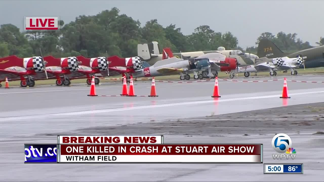 Stuart Air Show cancelled for Friday following deadly plane crash