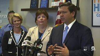 Gov. DeSantis: No new Florida coronavirus cases