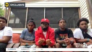 Young men speak out about arrest