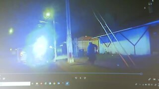 Dashcam video from police shooting in Detroit