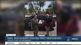 Noodles Italian Cafe feeds first responders amid COVID-19 crisis