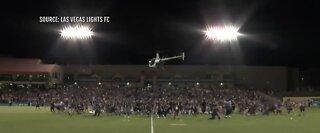 FAA investigates Las Vegas Lights' $10K Cash Drop stunt