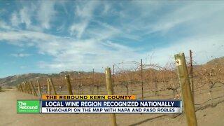 Local wine region recognized nationally