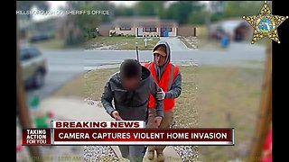 CAUGHT ON VIDEO: Robbery suspect pistol-whips Tampa homeowner before stealing jewelry, cash