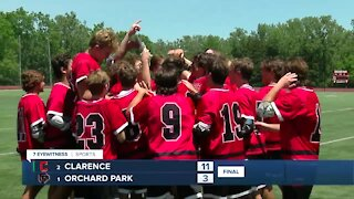 Clarence rolls Orchard Park for Class A Title