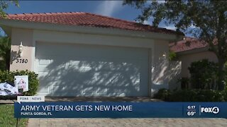 Army vet gets new home