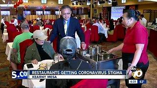 Restaurants getting coronavirus stigma