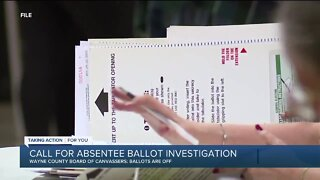 Calls for Detroit absentee ballot investigation