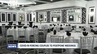 Couples forced to postpone weddings due to COVID-19 outbreak