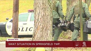 SWAT standoff follows stabbing in Springfield Township
