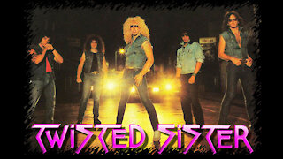 Twisted Sister - The Kids are back(Guitar Cover)