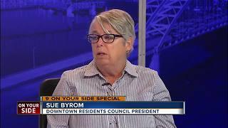 Panel discussion about Cincinnati's Tent City