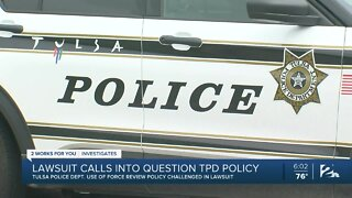 Lawsuit calls into question TPD policy